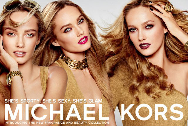 Michael Kors, lo stilista americano presenta la prima collezione Fragrance and Beauty