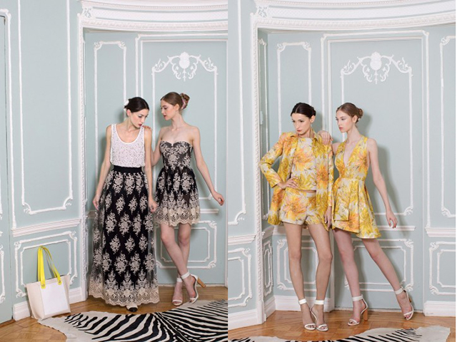 Alice and Olivia, glam la collezione primavera estate 2015