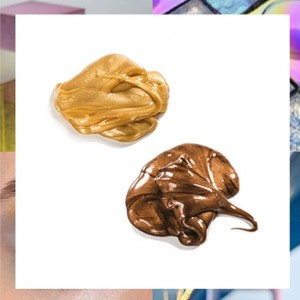 Cosmoprof-Pink Frogs Sleeping Metallic Mask